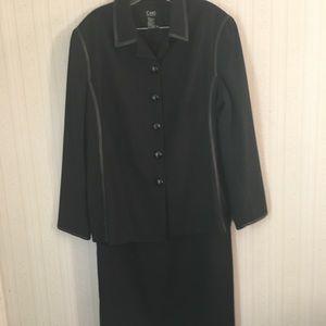 Cami International 2 pc. Maxi Suit, black
